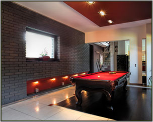 Club house with indoor Games