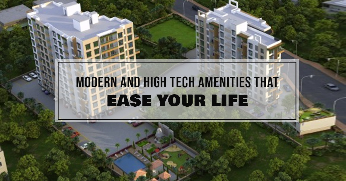Modern and high tech amenities that ease your life